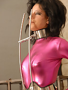 Steel chastity and gag