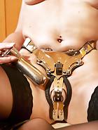 Chastity belt laundry