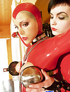 Chastity and steel harness