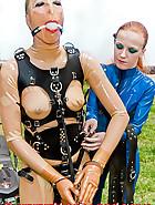 Wrist cuffs bondage