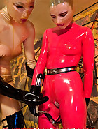 A day in rubber