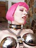 Complete chastity harness