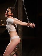 Grueling predicament bondage