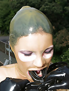 A walk in latex