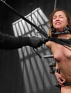 Captured and fucked in extreme bondage positions, pic 9