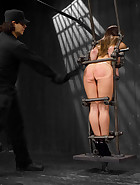 Captured and fucked in extreme bondage positions, pic 10