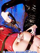 Lady Victoria torments Pupett, pic 3