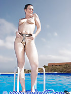 Chastity and swiming pool, pt.2, pic 12