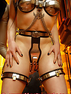 Chastity belt training, pic 14