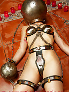 Chastity belt training, pic 2