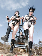 Two ponygirls rides, pic 8