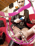 Pink chastity belt, pic 11