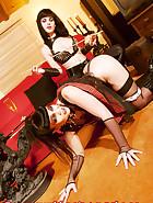 Jill wears chastity belt, pic 7