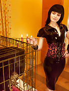 Jill in a cage, pic 1