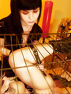Jill in a cage, pic 11