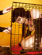 Jill in a cage, pic 7