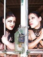 2 girls in chains, pic 1