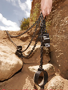 Chained in a cave, pic 7