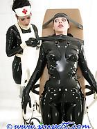 Extreme rubber bondage, pic 12