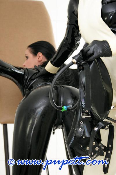 bondage latex
