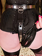 Pink chastity device, pic 6