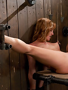 Redhead helpless and loving it, pic 14