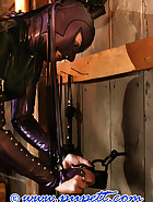 Stabled rubber pony girl, pic 11
