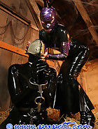 Stabled rubber pony girl, pic 7
