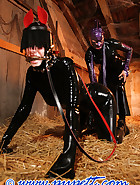 Stabled rubber pony girl, pt.2, pic 13