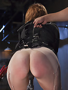Red Head Gets Tormented and Ass Fucked, pic 1