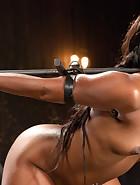 Ebony Pain Slut is Captured, pic 11