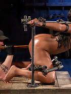 Ebony Pain Slut is Captured, pic 3