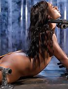 Ebony Pain Slut is Captured, pic 5